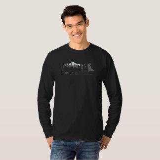 Portland Urban Coyote Project Dark Long-sleeved T-Shirt