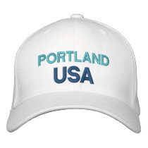 Portland USA Embroidered Baseball Cap