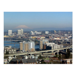 Portland Viewed from the Aerial Tram Postcard