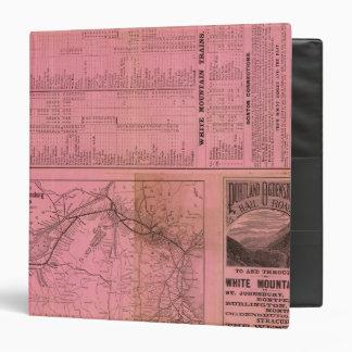 """Portland y ferrocarril y conexiones de Ogdensburg Carpeta 1 1/2"""""""