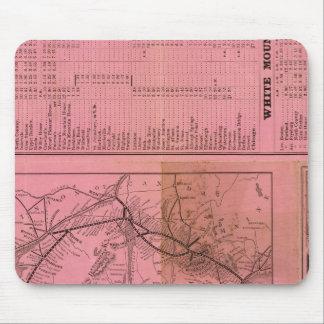 Portland y ferrocarril y conexiones de Ogdensburg Alfombrillas De Raton