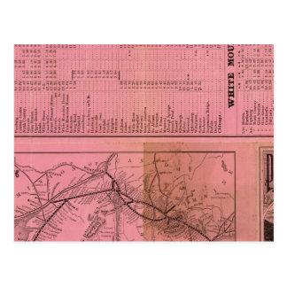 Portland y ferrocarril y conexiones de Ogdensburg Tarjetas Postales