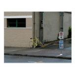 Portland Yellow Bike Postcard
