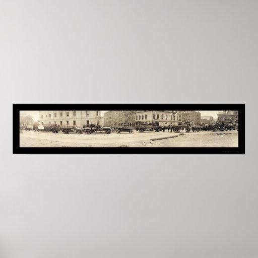 Portland YO foto 1920 del departamento del fuego Impresiones