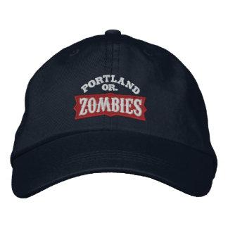 Portland Zombies Dark Cap Embroidered Hats