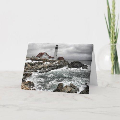 Portlandhead Lighthouse Card card