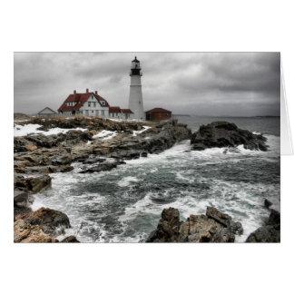 Portlandhead Lighthouse Card