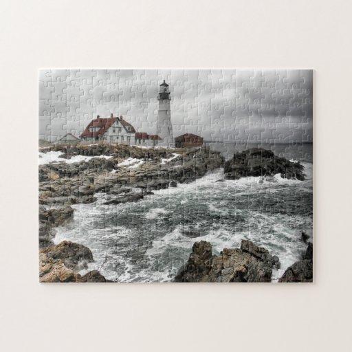 Portlandhead Lighthouse Puzzle