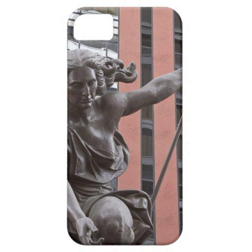 Portlandia statue, Portland, Oregon Blackberry Cases