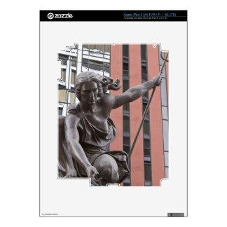 Portlandia statue, Portland, Oregon Decal For iPad 3