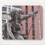 Portlandia statue, Portland, Oregon Mouse Pad