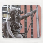 Portlandia statue, Portland, Oregon Mousepads