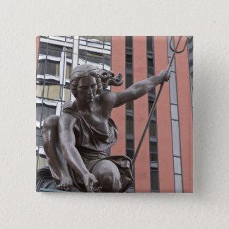 Portlandia statue, Portland, Oregon Pinback Button
