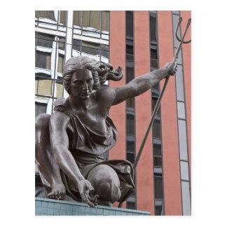 Portlandia statue, Portland, Oregon Postcard