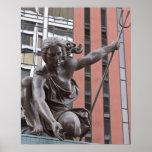 Portlandia statue, Portland, Oregon Print