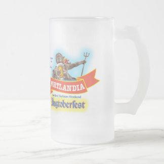"Portlandia Weekend ""Augtoberfest"" 2014 Beer Mug"