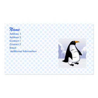 Portly Penguin Business Card