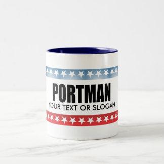 PORTMAN 2010 Two-Tone COFFEE MUG