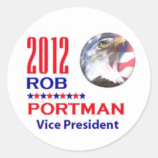 Portman VP 2012 Classic Round Sticker