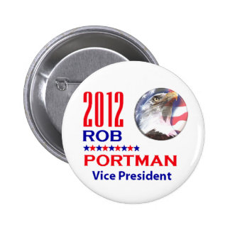 Portman VP 2012 Pinback Button