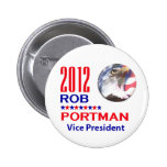 Portman VP 2012 Pinback Buttons