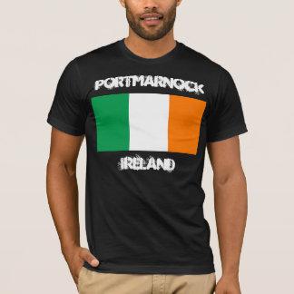 Portmarnock, Ireland with Irish flag T-Shirt