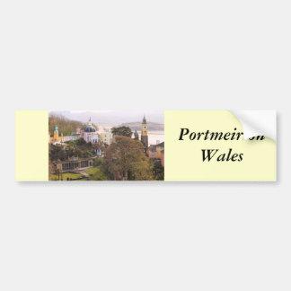Portmeirion Car Bumper Sticker