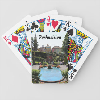 Portmeirion Fountain Bicycle Playing Cards