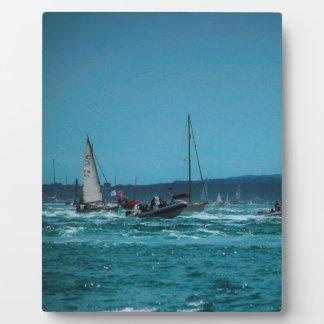 Portmouth Harbour Boat Race Photo Plaque