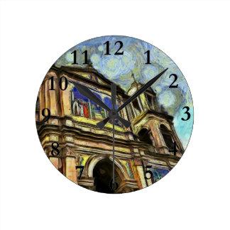 Porto Alegre's church Round Clocks