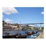 Porto by the Douro River Postcards