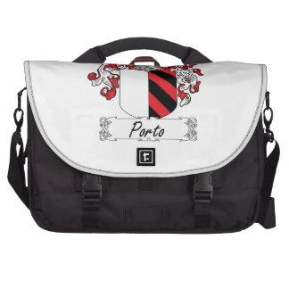 Porto Family Crest Laptop Messenger Bag