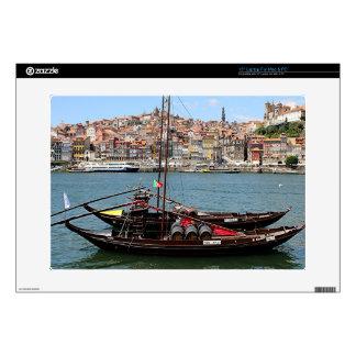 "Porto Offley boat, Portugal 15"" Laptop Skins"