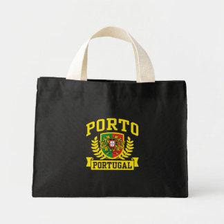 Porto Portugal Mini Tote Bag