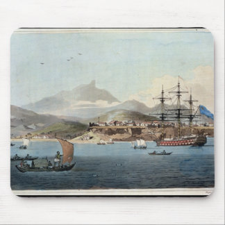 Porto Praya in the Island of St. Jago, plate 4 fro Mouse Pad