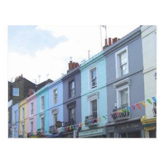 Portobello Road in London Postcard