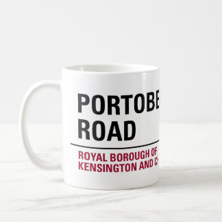 Portobello Road Sign Coffee Mug