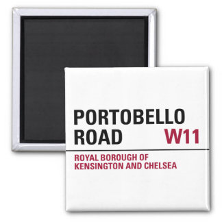 Portobello Road Sign Magnet