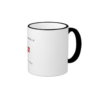 Portobelo Panama Scuba Dive Flag Coffee Mugs