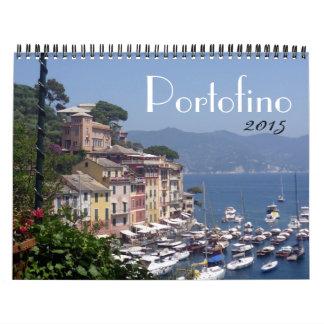 portofino 2015 calendario de pared