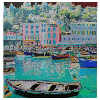 Portofino al puerto foto cambia Solarisation