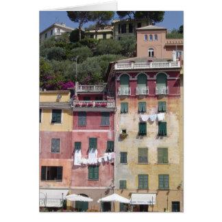 Portofino, espacio en blanco de Italia toda la tar Tarjeton