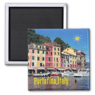 Portofino Italia Imán Cuadrado