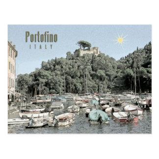Portofino, Italia Tarjeta Postal