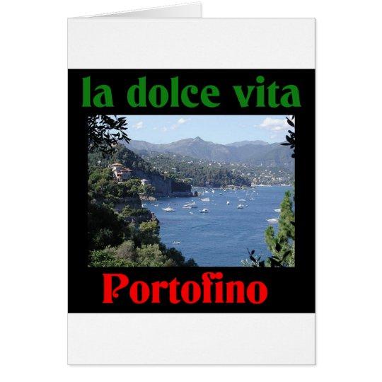 Portofino Italy Card