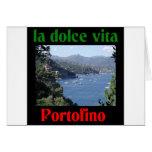 Portofino Italy Greeting Card