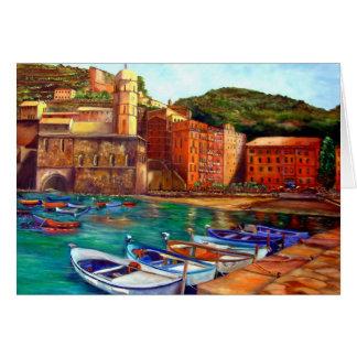 Portofino Italy Italian Riveria Card