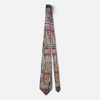 Portofino, lazo colorido de Italia - Italia Corbata Personalizada