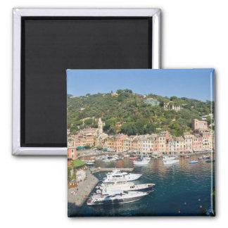 Portofino  panorama 2 inch square magnet