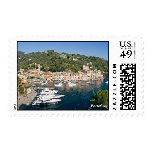 Portofino  panorama stamps